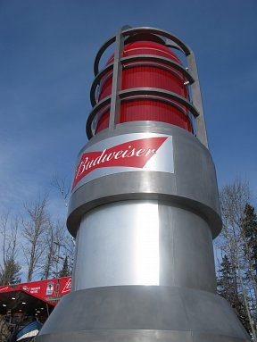 Budweiser NHL goal light