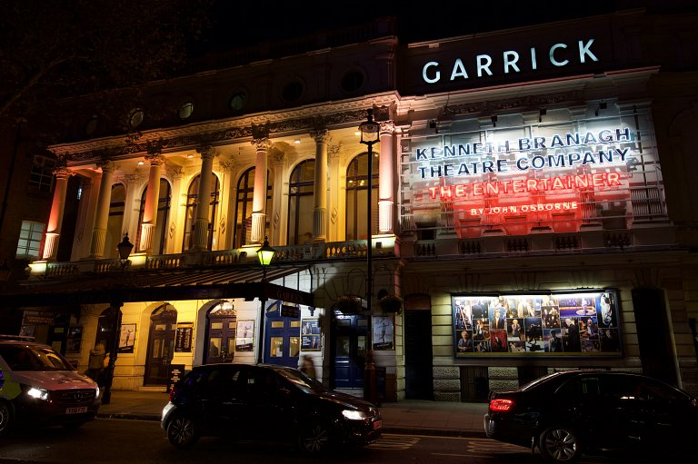 The Entertainer front-of-house at the Garrick Theatre, London